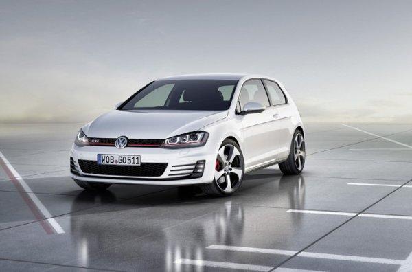 Golf BlueMotion et Golf GTI de Volkswagen au Mondial de Paris 2012