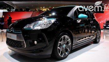 Première mondiale pour la Citroën DS3 Electrum à Paris