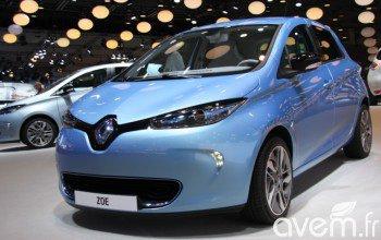 Renault Zoé ZE – Dernière ligne droite avant la production au Mondial de Paris