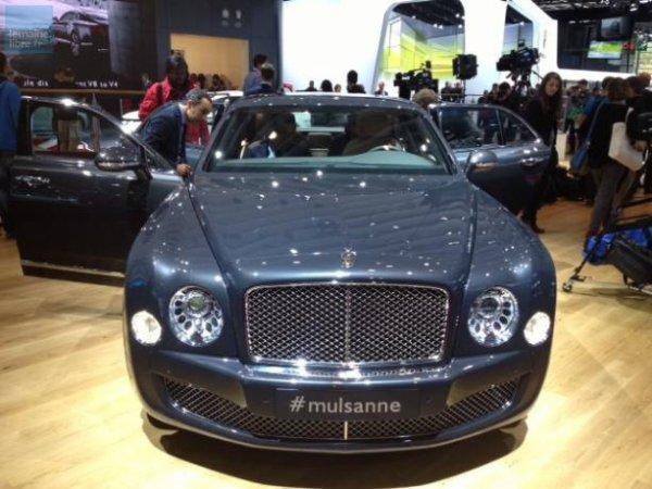 La nouvelle Bentley Mulsanne, un bijou qui rend hommage au célèbre virage des 24 Heures.