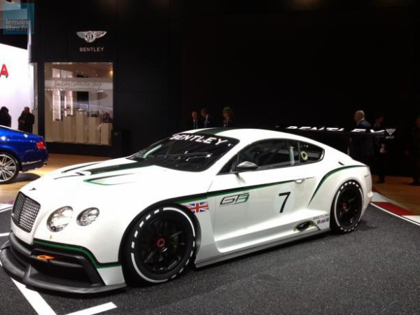 Outre la Mulsanne, Bentley a présenté la GT qui devrait courir en Endurance la saison prochaine... et donc sûrement au Mans.