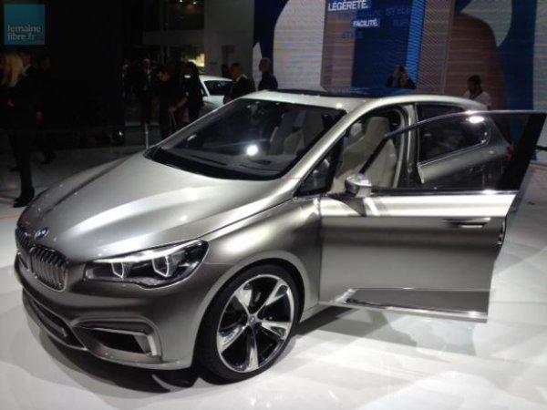 BMW a sorti un nouveau monospace, l'Active Tourer.
