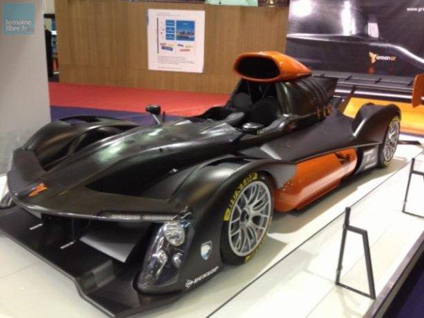 L'électrique, à l'image de la Green GT (qui a couru les 24 Heures du Mans), est bien représenté sur le salon.