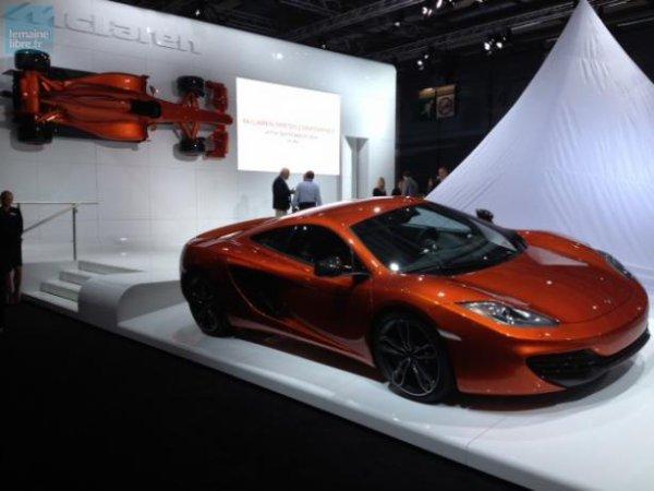 Les voitures de rêve ne manquent pas, à l'image de la célèbre McLaren