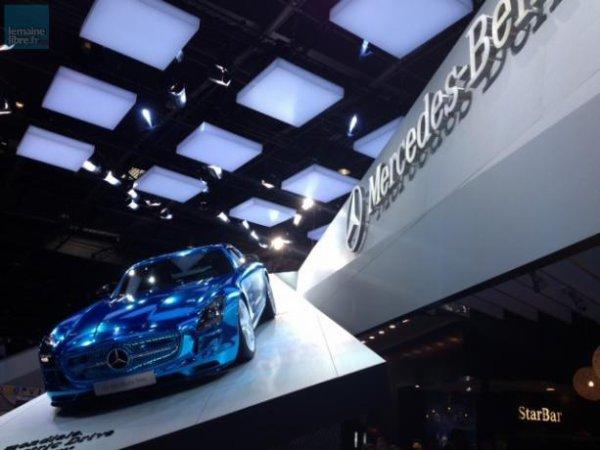 Avec sa SLS AMG Electric Drive, Mercedes veut prouver qu'on peut allier moteur électrique et sportivité.