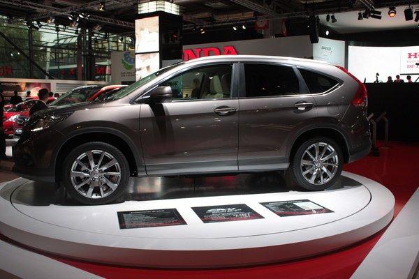 Mondial 2012 - nouveau Honda CR-V : évolution de style
