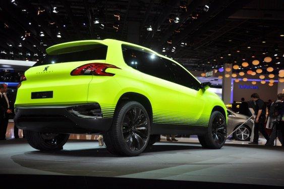 Peugeot 2008, le futur SUV de la marque
