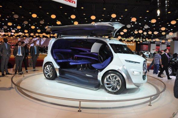 Le salon roulant de Citroën