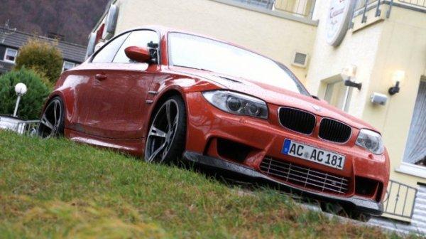Essai BMW 1M AC Schnitzer : Athlète Dévergondée