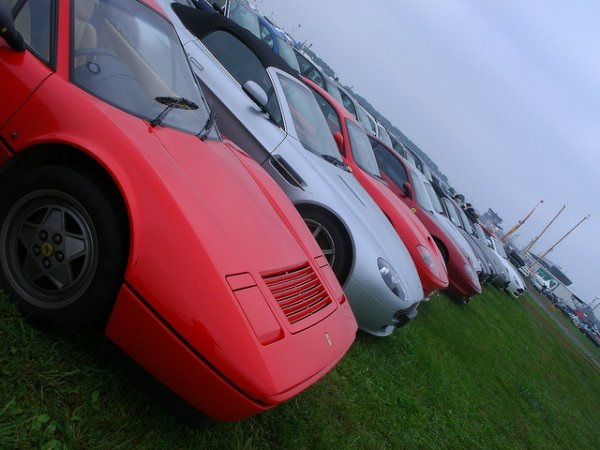 Ferrari's & Aston's