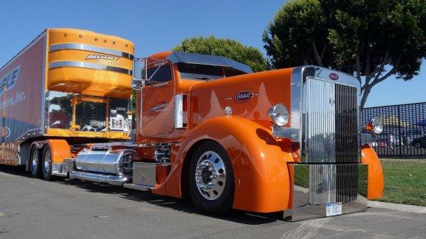 Truck americain. Du tuning