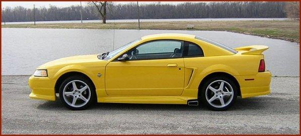 Mustang Roush de première et seconde generation : 1998 et 1999-2004