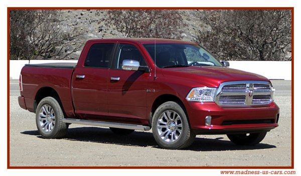 Ram 1500 EcoDiesel Limited 2014