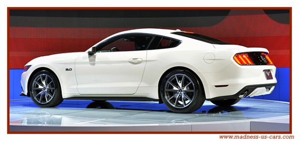Ford Mustang GT 2015 50ème Anniversaire