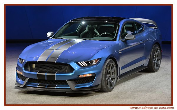 Shelby Mustang GT350R 2016