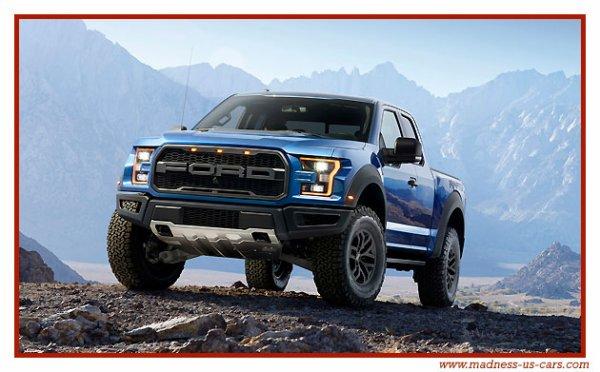 Ford F150 Raptor 2017