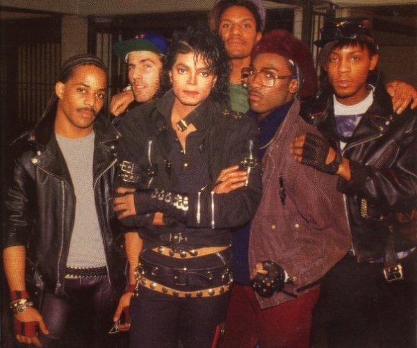 michael et ses danseurs