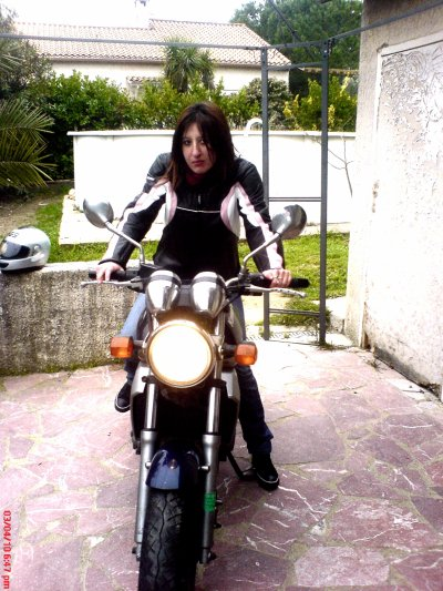 Premiers cours de moto ^^