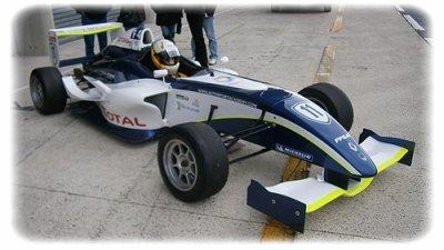 Test en F4 au Mans