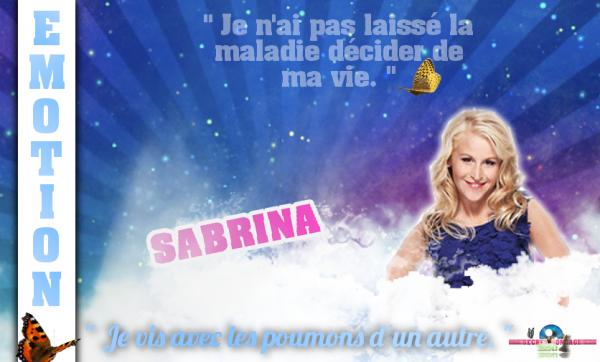 HORS SUJET : Interview de Sabrina.