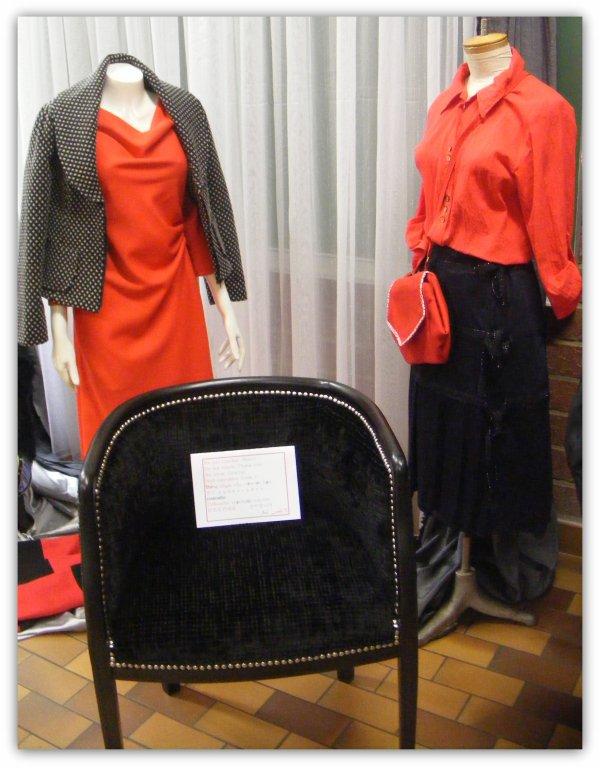 Expositions IEPSARLON :4ème partie - Coupe couture & garnissage