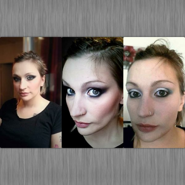 Évolution make up sur Caroline