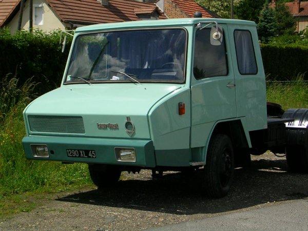 un berliert stradair  le premier camion a suspensions sur coussins d/air  un super comfort