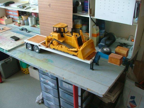la voila finie avec le bulldozer