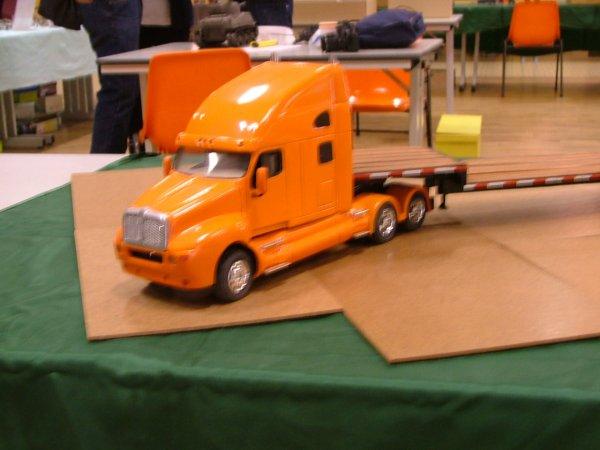 et aussi des camions 1/24 eme