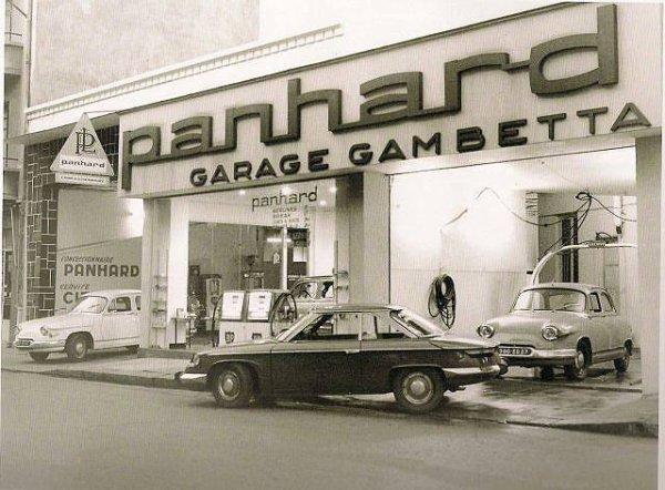 garage panhard