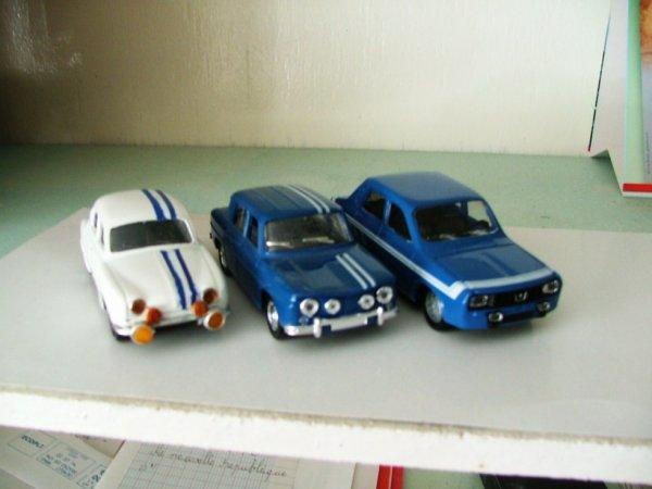daufine 1093 R8 gordini 1300 R12 gordini