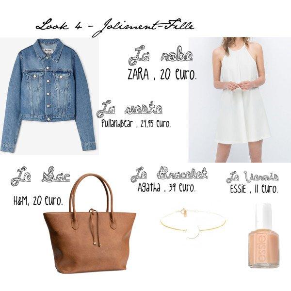 [ Lookbook n°1 ] : 4 tenues pour la rentrée / Collège et Lycée ! 2015 ♡