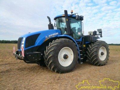 le nouveau tracteur articuler newholland