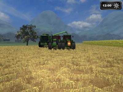 quelque foto de farming simulator 2011