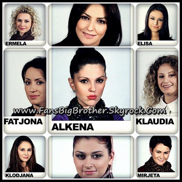 Cila nga femrat e shtepise : 1) Eshte me e bukura ; 2) Me intelegjentja; 3) Me simpatikja ; 4) Cila prej tyre duhet te shkoje ne finale :) ?