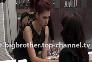Alma dhe Neda debatojnë