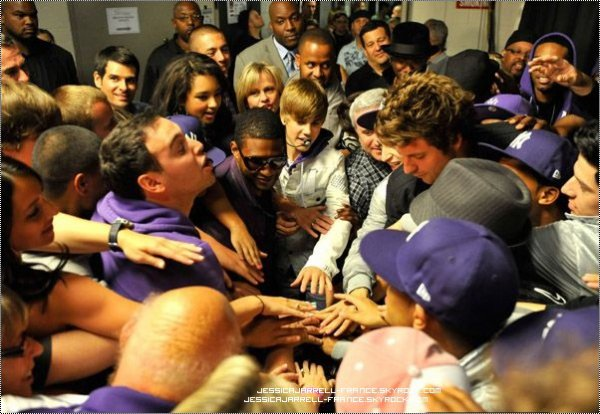 MSG with Justin Bieber, Usher ...