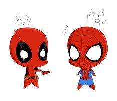 Dead pool et Spiderman... Une grande histoire d'amooouuurrr!!! ;3