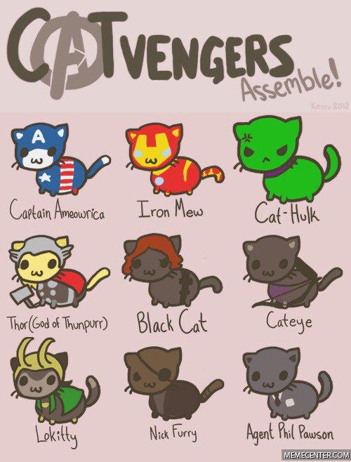 Les Catvengers