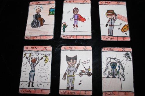Mon jeu des 7 Familles spécial Super Héros