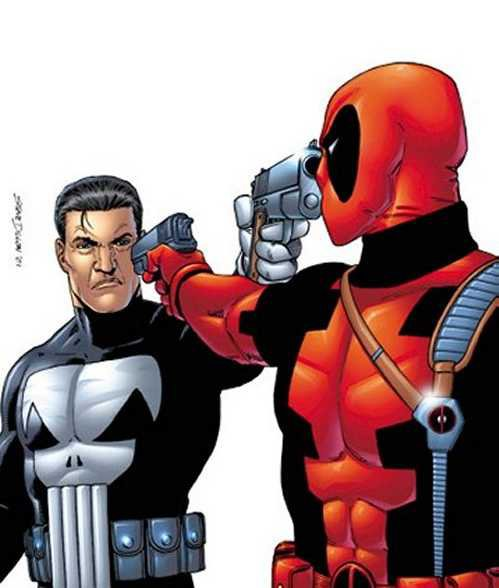 Le Punisher VS Deadpool