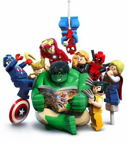 Les Super Héros lego Marvel le jeu!