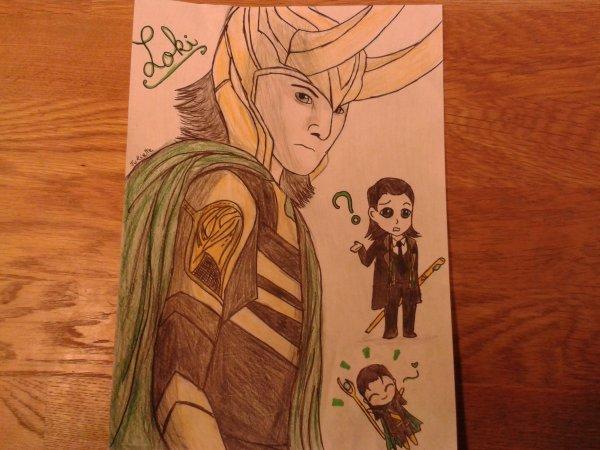 Dessin de Loki