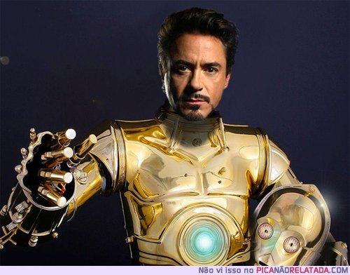 Ironman et C3PO