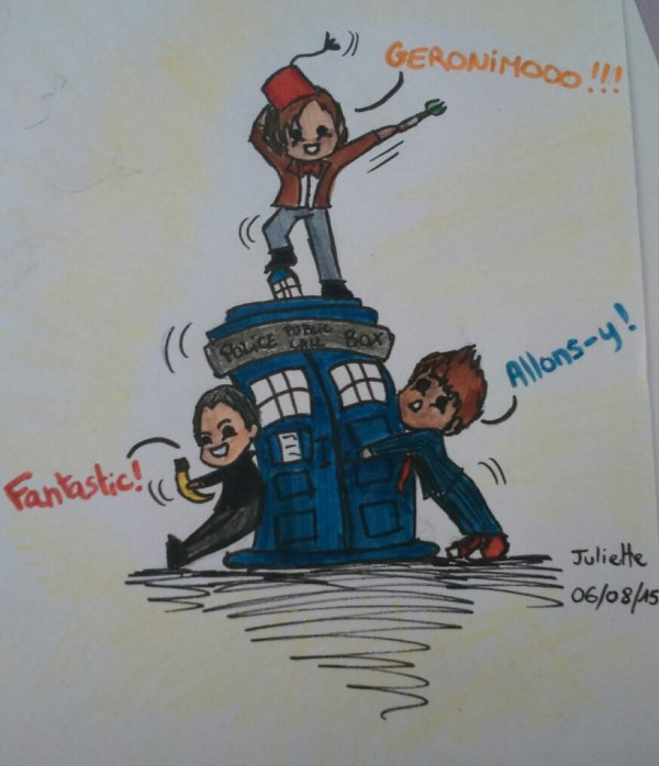 Dessin Doctor Who