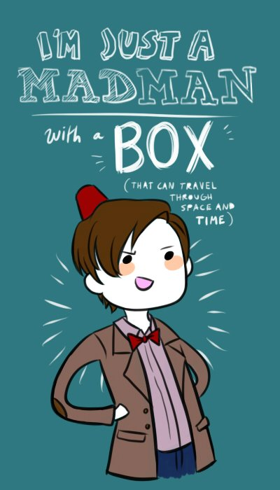 I'm not a psychopath, i'm a good old fashioned villain with a Box ! (But it's usually subtext)