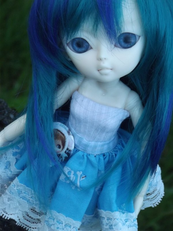Ma belle bleue!