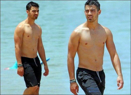 les Jonas à hawai