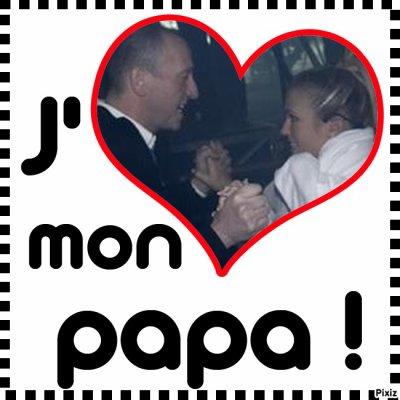 Lorie et son père