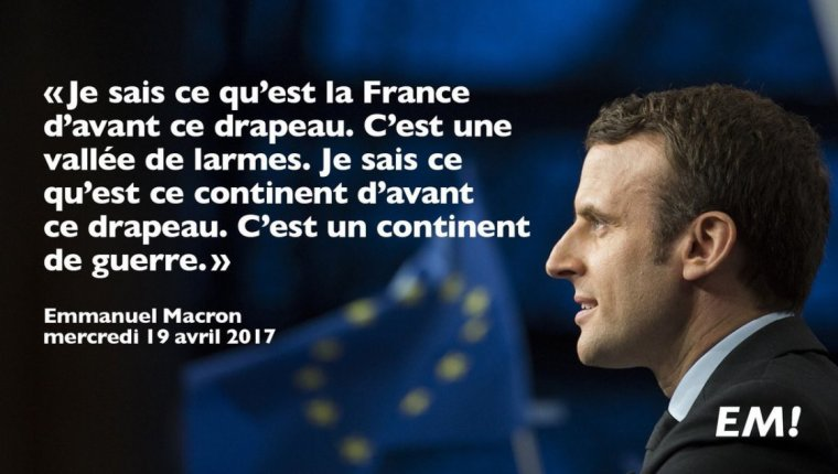LE DERNIER TWEET DE MACRON!